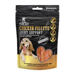 Rosewood Posh Eats Chicken Fillets Joint Support Dog Treats 80g