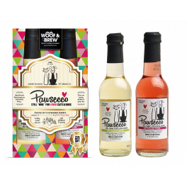 Pawsecco Hearts Duo Wine Gift Box For Cats & Dogs