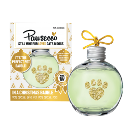Pawsecco Christmas Bauble for Cats & Dogs 150ml