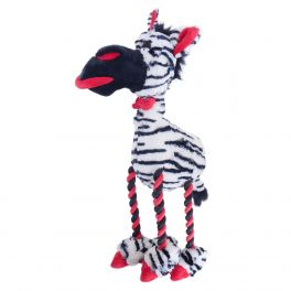Rosewood Christmas Large Zadie Zebra Dog Toy