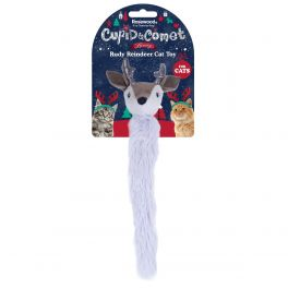 Rosewood Christmas Rudy Reindeer Cat Toy