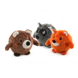 Ancol Bouncing Woodland Friends Dog Toy