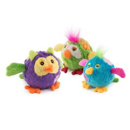 Ancol Bouncing Flower Birds Dog Toy