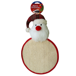 Ancol Christmas Santa Cat Scratcher