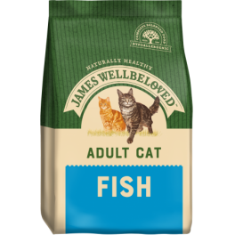 James Wellbeloved Adult Cat Food with Fish