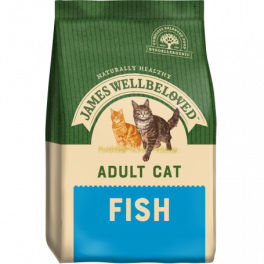 James Wellbeloved Adult Cat Food with Fish 1.5kg