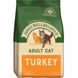 James Wellbeloved Adult Cat Food with Turkey