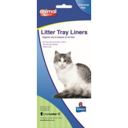 Animal Instincts Cat Litter Tray Liners (x6)
