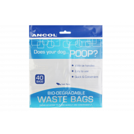 Ancol Biodegradable Waste Bags x 40