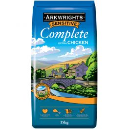 Arkwrights Sensitive Complete Extra with Chicken Dog Food 15kg