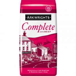 Arkwrights Complete Adult Dog Food in Beef 15kg