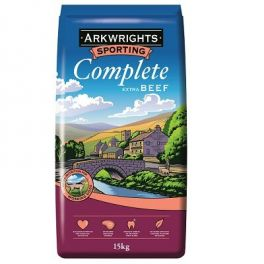 Arkwrights Sporting Complete Extra with Beef Dog Food 15kg