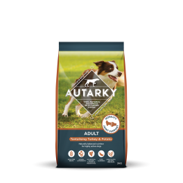 Autarky Turkey & Potato Adult Dog Food 2kg