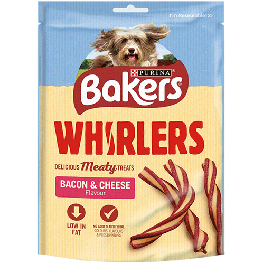 Bakers Whirlers Dog Treats 175g