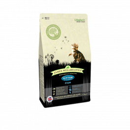 James Wellbeloved Kitten Food with Fish 1.5kg