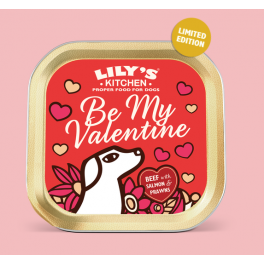Lily's Kitchen Be My Valentine Dog Food Tray 150g