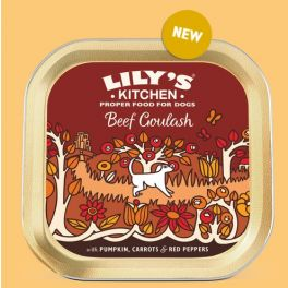 Lily's Kitchen Beef Goulash Dog Food Tray 150g