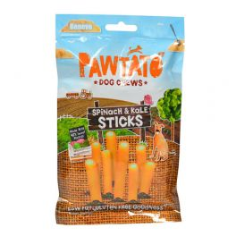 Benevo Pawtato Spinach & Kale Sticks Dog Treats 120g