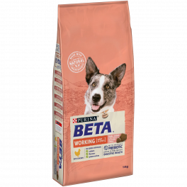 BETA Working Adult Dog Food with Chicken 14kg