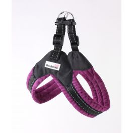 Doodlebone Boomerang Purple Dog Harness