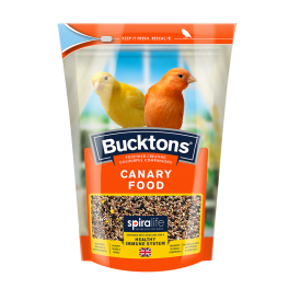 Bucktons Canary Food with Spiralife 500g