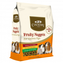 Burgess Country Value Fruity Nuggets Guinea Pig Food 10kg
