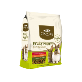 Burgess Country Value Fruity Nuggets Rabbit Food 1.5kg