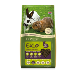 Burgess Excel Adult Rabbit Food with Mint 10kg