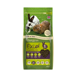 Burgess Excel Adult Rabbit Food with Mint 4kg