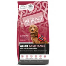 Burns Alert Chicken & Brown Rice Dog Food