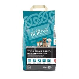 Burns Original Toy & Small Breed Chicken & Rice Dog Food