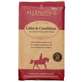 Allen & Page Calm & Condition Horse Food 20kg