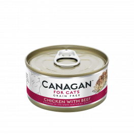 Canagan Chicken with Beef Wet Food Tin 75g