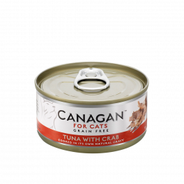 Canagan Tuna with Crab Wet Cat Food Tin 75g