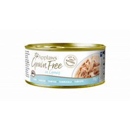 Applaws Tuna Fillet in Gravy Grain Free Adult Cat Food 70g