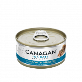 Canagan Tuna with Mussels Wet Cat Food Tin 75g