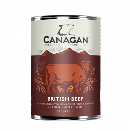 Canagan British Beef Wet Dog Food 400g