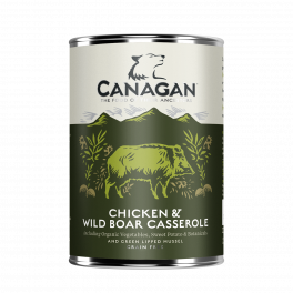 Canagan Chicken and Wild Boar Casserole Wet Dog Food 400g