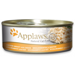 Applaws Chicken Breast with Cheese Natural Adult Cat Food 70g