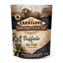 Carnilove Buffalo with Rose Petals Dog Food Pouch 300g
