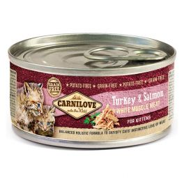 Carnilove Turkey & Salmon Wet Kitten Food 100g