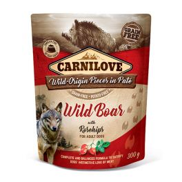 Carnilove WIld Boar with Rosehips Dog Food Pouch 300g
