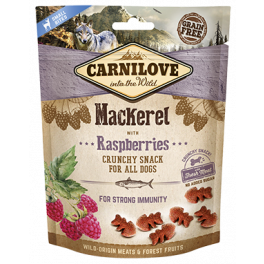 Carnilove Mackerel & Raspberries Dog Treats 200g