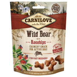 Carnilove Wild Boar & Rosehips Dog Treats 200g