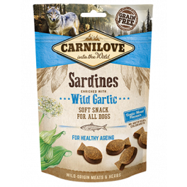 Carnilove Sardines & Wild Garlic Dog Treats 200g