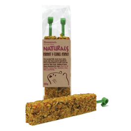 Rosewood Carrot & Fennel Sticks Small Animal Treats 120g