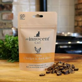 The Innocent Cat Chicken & Duck Slices With Catnip 70g