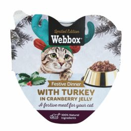 Webbox Christmas Festive Dinner with Turkey  in Cranberry Jelly Wet Cat Food 85g