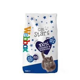 Webbox Cat Stars with Chicken Dry Cat Food 900g