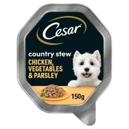 Cesar Country Stew with Chicken and Vegetables in Gravy 150g